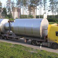 Перевозка крупногабаритных металлоконструкций на спецтехнике
