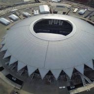Достроенный стадион «Самара-Арена» к Чемпионату FIFA 2018