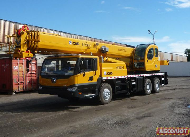 Автокран XCMG QY25K5-I грузоподъемность 25 тонн